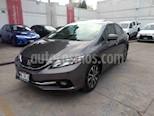 Foto venta Auto usado Honda Civic EX Aut (2015) color Gris precio $205,000