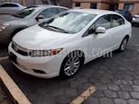Foto venta Auto usado Honda Civic EX Aut (2012) color Blanco Marfil precio $149,000