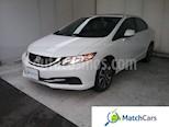 Foto venta Carro usado Honda Civic EX L SR 1.8L Aut (2013) color Blanco / Gris precio $50.990.000