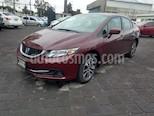 Foto venta Auto usado Honda Civic EX (2014) color Rojo Camelia precio $180,000