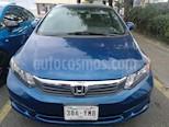 Foto venta Auto Seminuevo Honda Civic EX (2012) color Azul Dinamico precio $162,000