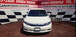 Foto venta Auto usado Honda Civic EX (2012) color Blanco Marfil precio $145,000