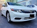 Foto venta Auto usado Honda Civic EXL 1.8L Aut (2012) color Blanco Marfil precio $168,000
