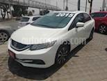 Foto venta Auto usado Honda Civic EXL 1.8L (2015) color Blanco precio $230,000