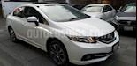 Foto venta Auto usado Honda Civic EXL 1.8L (2015) color Blanco precio $228,000