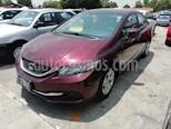 Foto venta Auto usado Honda Civic LX 1.7L Aut (2013) color Rojo precio $154,800