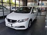 Foto venta Auto usado Honda Civic LX 1.8L Aut (2015) color Blanco Marfil precio $172,000