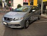 Foto venta Auto usado Honda Civic LX 1.8L (2014) color Plata precio $169,900