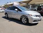 Foto venta Auto usado Honda Civic LX 1.8L (2013) color Plata Diamante precio $158,000