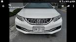 Foto venta Auto usado Honda Civic LX 1.8L (2013) color Blanco Marfil precio $175,000