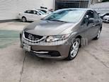 Foto venta Auto usado Honda Civic LX 1.8L (2013) color Gris precio $165,000