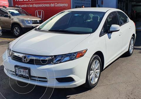 Honda Civic EX 1.8L Aut usado (2012) color Blanco Marfil precio $170,000