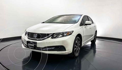 Honda Civic EX 1.8L Aut usado (2014) color Blanco precio $197,999
