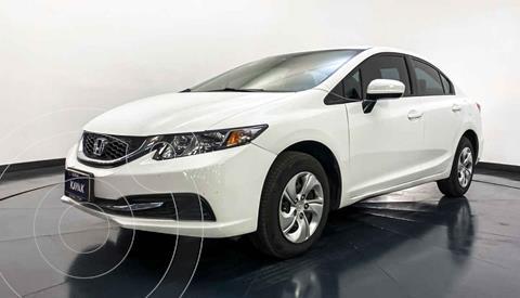Honda Civic LX 1.8L Aut usado (2015) color Blanco precio $202,999