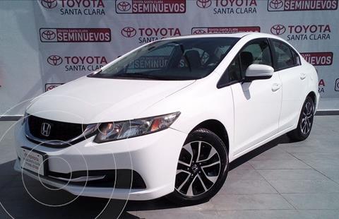 Honda Civic EX 1.8L usado (2015) color Blanco precio $209,000