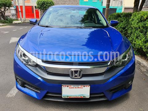 Honda Civic Turbo Plus Aut usado (2016) color Azul precio $264,000