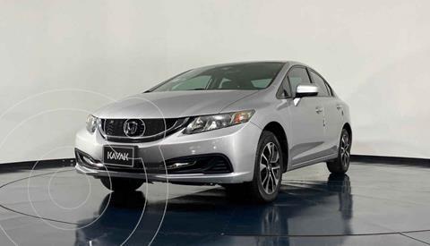 Honda Civic EX 1.8L Aut usado (2014) color Plata precio $194,999