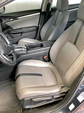 Honda Civic Turbo Plus Aut usado (2016) color Gris precio $121,000