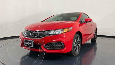 Honda Civic Coupe EX 1.8L usado (2015) color Rojo precio $224,999