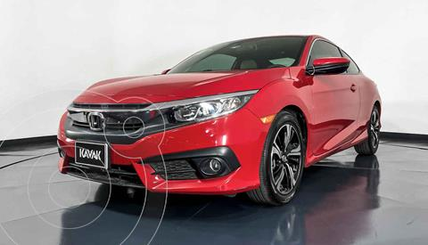 Honda Civic Coupe Turbo Aut usado (2018) color Rojo precio $362,999