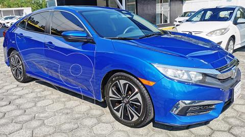 Honda Civic Turbo Aut usado (2016) color Azul precio $260,000