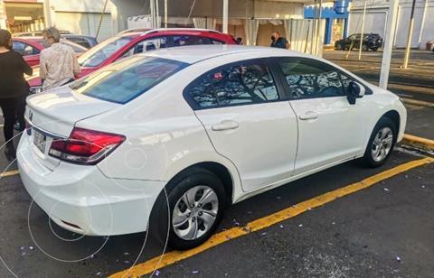 Honda Civic LX 1.8L Aut usado (2014) color Blanco precio $155,000