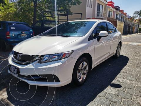 Honda Civic LX 1.8L Aut usado (2014) color Blanco precio $175,000