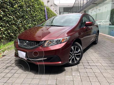 Honda Civic EXL 1.8L Aut usado (2015) color Rojo precio $245,000