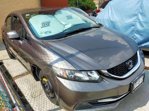 foto Honda Civic EX 1.8L usado (2013) color Gris precio $165,000