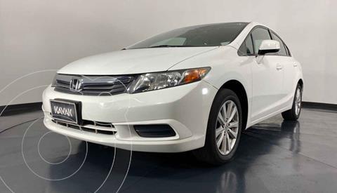 Honda Civic EX 1.8L Aut usado (2012) color Blanco precio $162,999