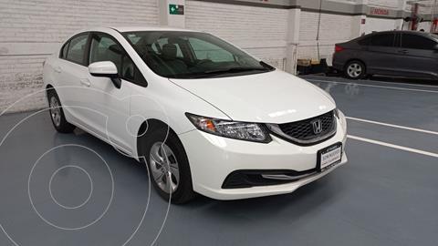 Honda Civic LX 1.8L usado (2014) color Blanco precio $207,000