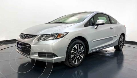 Honda Civic Coupe EX 1.8L Aut usado (2013) color Plata precio $177,999