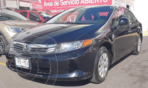 Honda Civic LX 1.8L usado (2012) color Negro precio $150,000