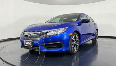 Honda Civic EX 1.8L Aut usado (2015) color Azul precio $274,999