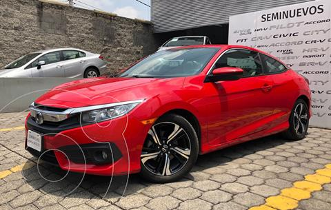 Honda Civic Coupe Turbo Aut usado (2018) color Rojo precio $380,000