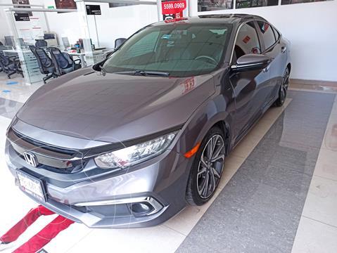 Honda Civic Touring Aut usado (2019) color Acero precio $392,000