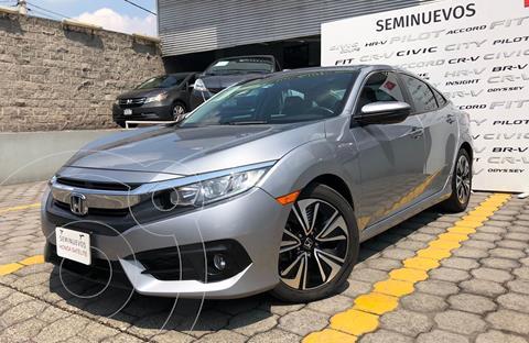 Honda Civic Turbo Plus Aut usado (2018) color Plata Dorado precio $355,900