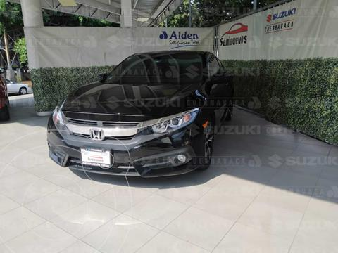 Honda Civic Coupe Turbo Aut usado (2017) color Negro Cristal precio $298,000