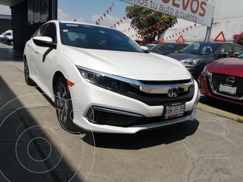 Honda Civic EX usado (2020) color Blanco Platinado precio $349,800