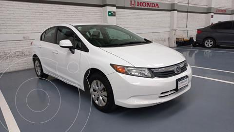 Honda Civic LX 1.8L usado (2012) color Blanco precio $157,000