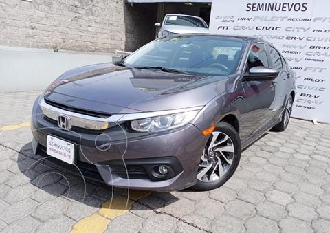 Honda Civic i-Style Aut usado (2018) color Gris Oscuro precio $285,000