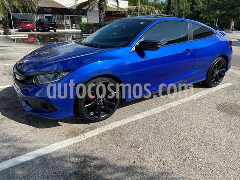 Honda Civic Coupe Sport Plus Aut usado (2019) color Azul Deportivo precio $369,000