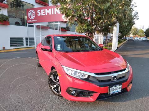 Honda Civic Coupe EX 1.8L usado (2016) color Rojo Rally precio $285,000