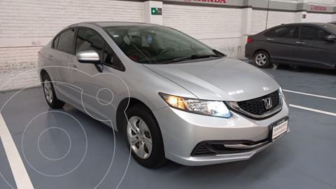 Honda Civic LX 1.8L usado (2015) color Plata Dorado precio $217,000