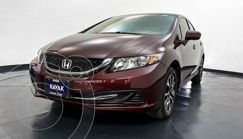 Honda Civic EXL 1.8L Aut NAVI usado (2015) color Rojo precio $234,999