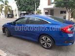 Honda Civic Turbo Aut usado (2016) color Azul precio $270,000