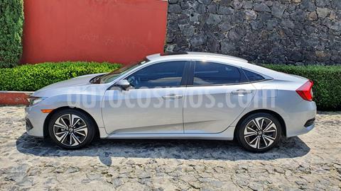 Honda Civic Turbo Plus Aut usado (2016) color Gris precio $249,000