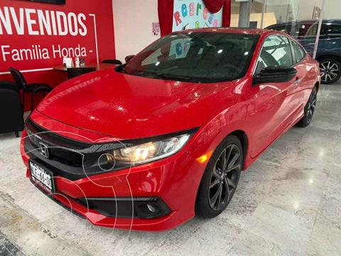 Honda Civic Coupe Turbo Aut usado (2019) color Rojo precio $415,000