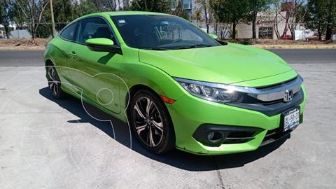 Honda Civic Coupe Turbo Aut usado (2016) color Verde Lima precio $249,000