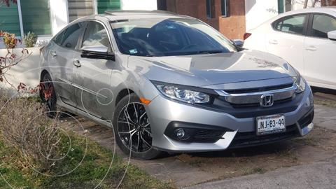 Honda Civic Turbo Plus Aut usado (2017) color Plata precio $285,000